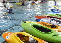Kayak Classes and Open Pool Sessions
